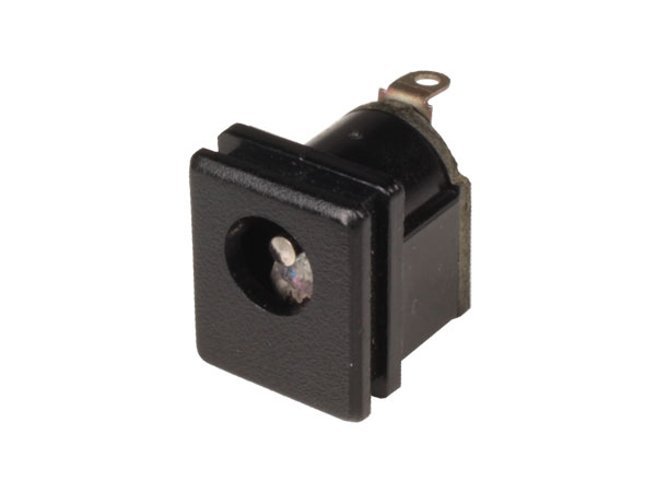 5.5 mm - 2.1 mm Jack Socket - Chassis Panel-Mount Female Power Socket