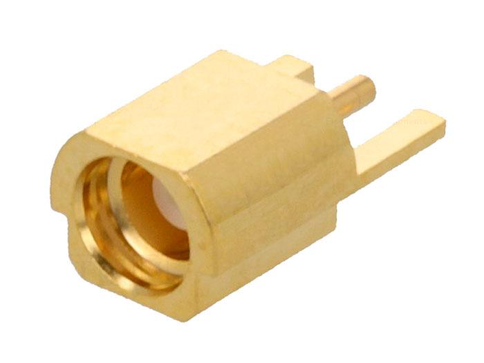 Connecteur MMCX Chassis Femelle Droit Circuit Imprimé - MMCX-11