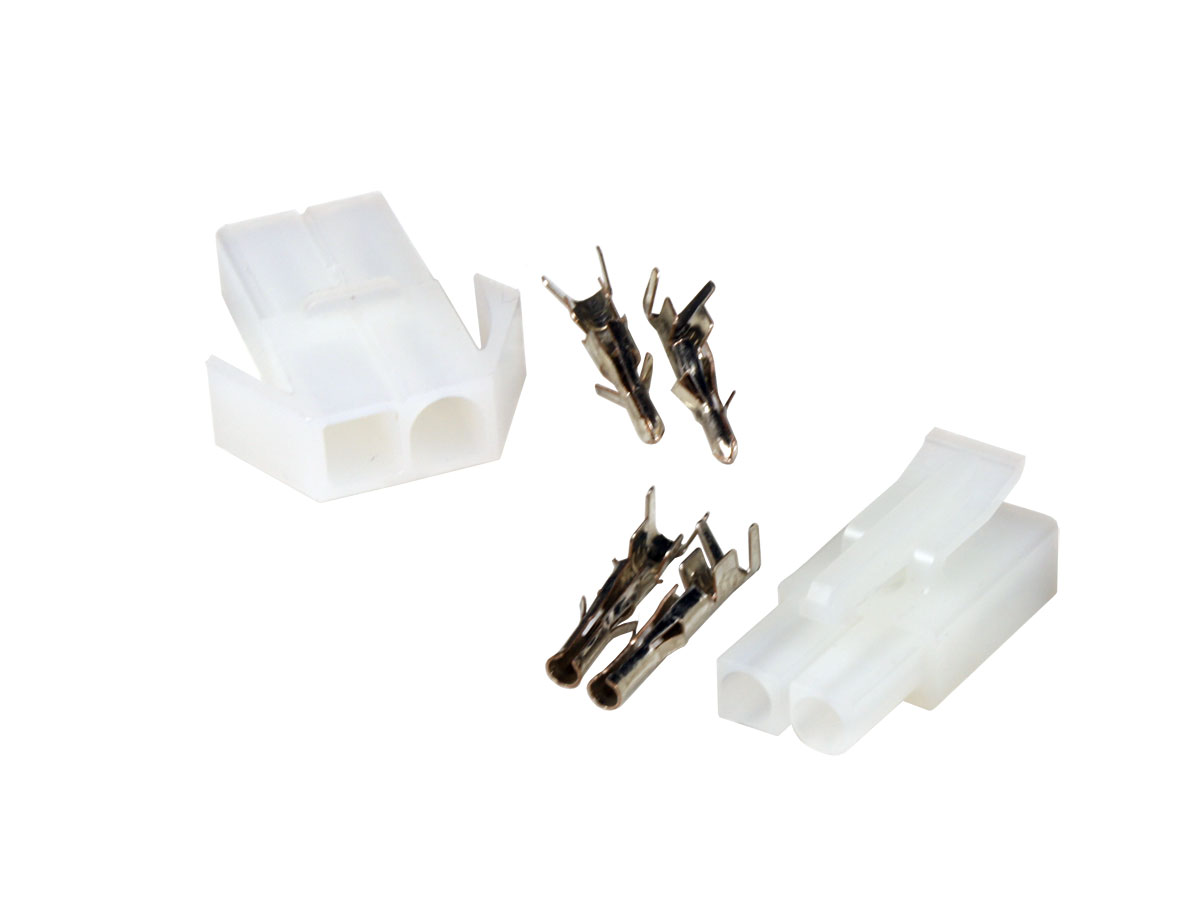 Set of 6.2 mm Multifunction Connectors - 1 x 2 Contacts - WTWCS1X2