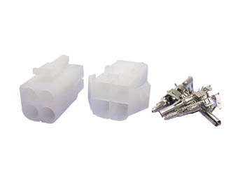 Set of 6.2 mm Multifunction Connectors - 2 x 2 Contacts - WTWCS2X2