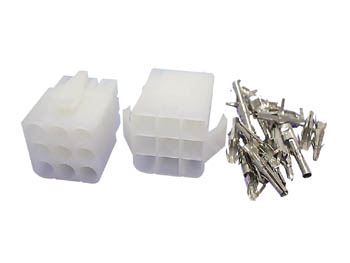 Set of 6.2 mm Multifunction Connectors - 3 x 3 Contacts - WTWCS3X3