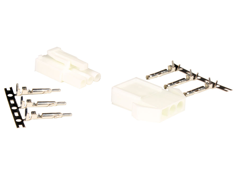 JST ELP-03V - ELR-03V - SLM-41T-P1.3E - JST Multifunction Connector Set 1X3 Contacts