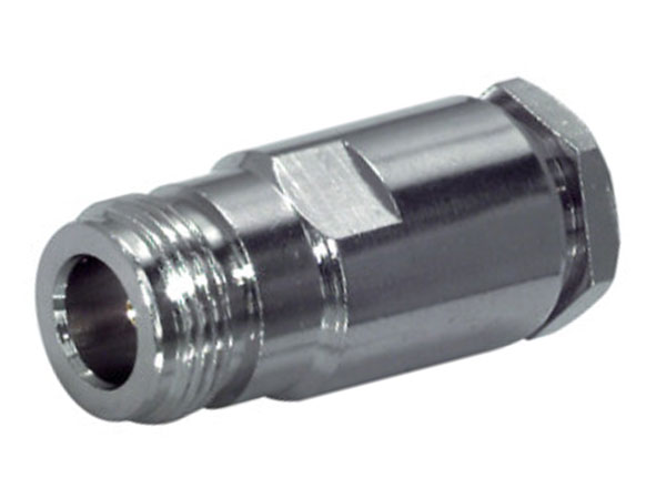 N-Type Straight Cable-Mount Female Connector for RG58 with Solder Contact - 05/29310