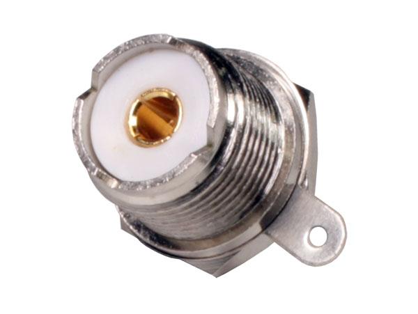- Ningún fabricante - - Connecteur UHF Chassis Droit Femelle à Souder - 19.940