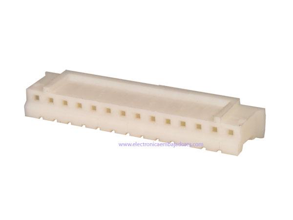 Connecteur à Carte - Boîtier Femelle Fiche 2,00 mm - 14 Pôles