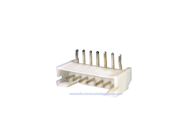 2.0 mm Right Angle Mount Male Header Connector - 7 Pins - CO3807