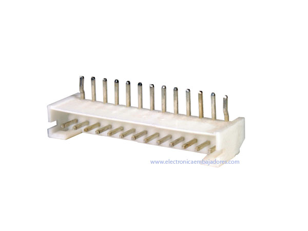 Connecteur à Carte - Mâle Coudé 2,00 mm - 13 Pôles - CO3813