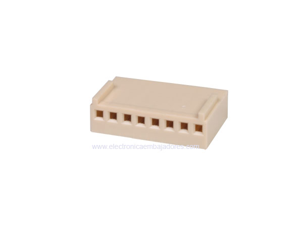2.54 mm Cable-Mount Female Header Connector - 8 Pins - CO3408ECO