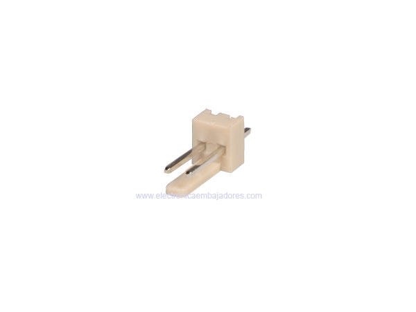 2.54 mm Straight-Mount Male Header Connector - 2 Pins - CO3302
