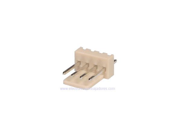 Connecteur à Carte - 2,54 mm Mâle Droit - 4 Pôles - CO3304