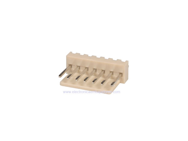 2.54 mm Straight-Mount Male Header Connector - 7 Pins - CO3307