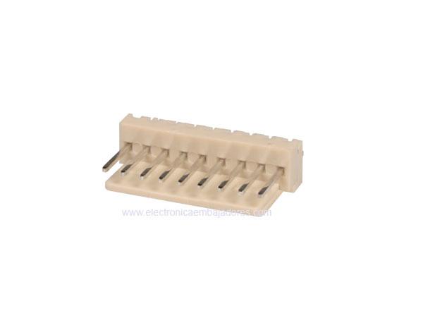 Conector Poste 2,54 mm Macho Recto - 9 Contactos - CO3309