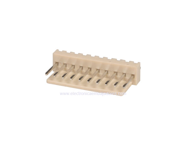 2.54 mm Straight-Mount Male Header Connector - 10 Pins - CO3310