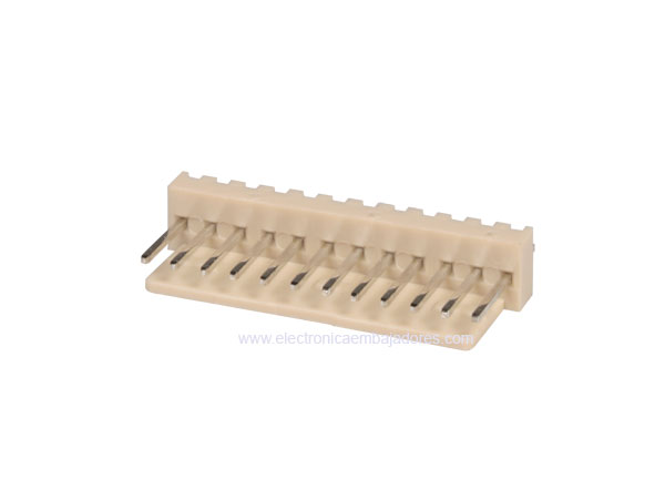 2.54 mm Straight-Mount Male Header Connector - 12 Pins - CO3312