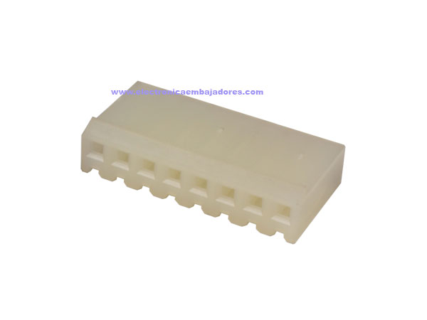Connecteur à Carte - 3,96 mm Femelle Fiche - 8 Pôles - CO32208