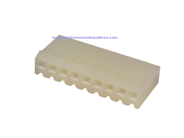 3.96 mm Cable-Mount Female Header Connector - 9 Pins - CO32209