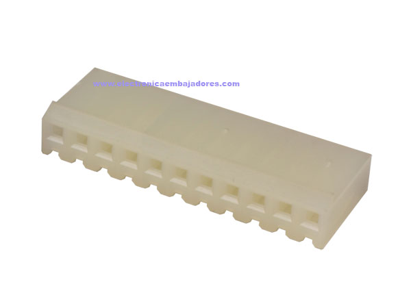 3.96 mm Cable-Mount Female Header Connector - 11 Pins - CO32211