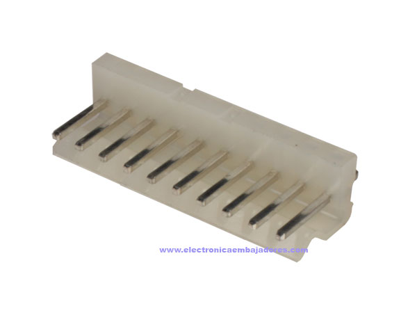 3.96 mm Straight-Mount Male Header Connector - 10 Pins - CO32010