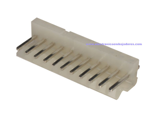 3.96 mm Straight-Mount Male Header Connector - 11 Pins - CO32011
