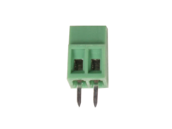 PCB Terminal Block 2.54 mm Pitch 2 Contacts - DB308-2,54-02P-14-H
