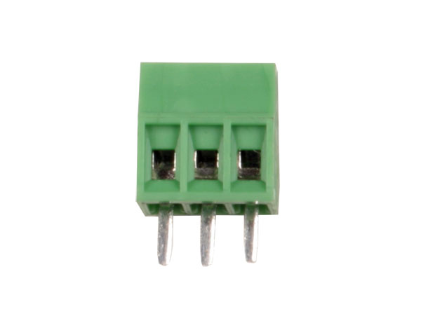 PCB terminal block 2.54 mm pitch 3 contacts