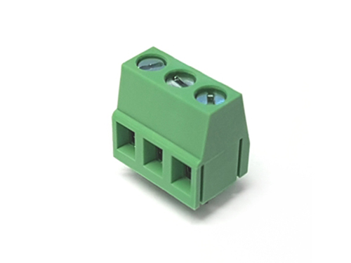 13 mm PCB terminal block 5.0 mm pitch 3 contacts
