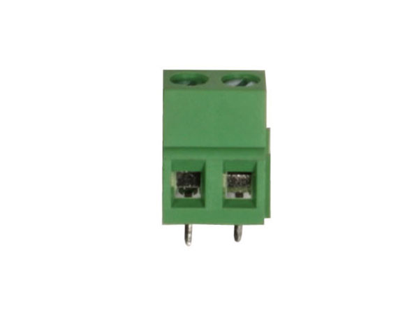 14 mm PCB terminal block 5.08 mm pitch 2 contacts