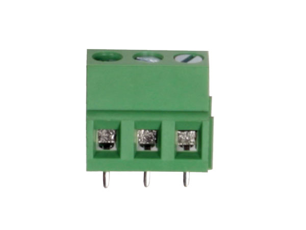 14 mm PCB terminal block 5.08 mm pitch 3 contacts