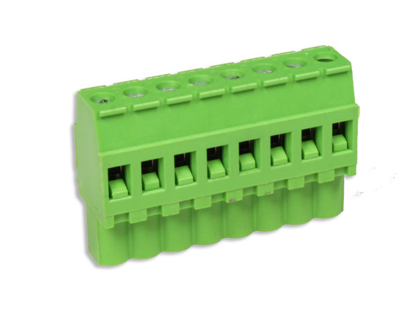 5.08 mm pitch - pluggable straight female terminal block - 8 contacts - PA-256/5.08 VE DX 8P