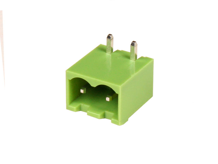5.08 mm pitch - pluggable right angle closed male terminal block - 2 contacts - 2EDGRC5.08-6P14