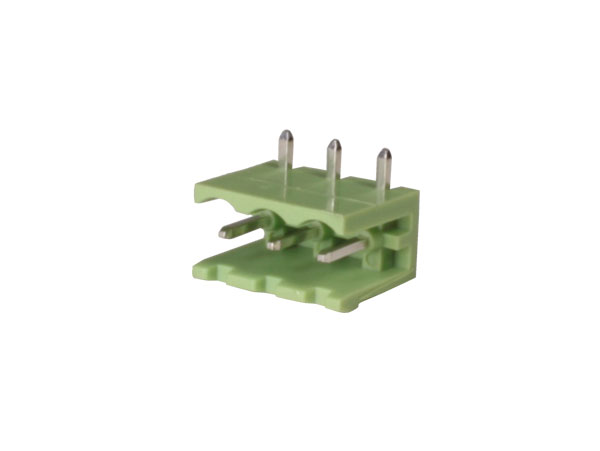 5.00 mm pitch - pluggable right angle male terminal block - 3 contacts