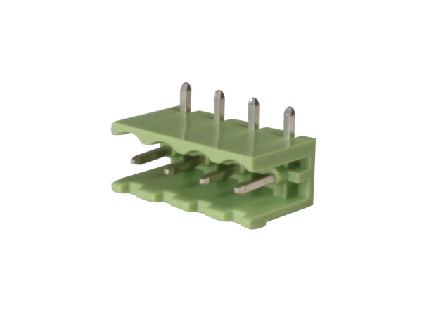 5.08 mm pitch - pluggable right angle male terminal block - 4 contacts