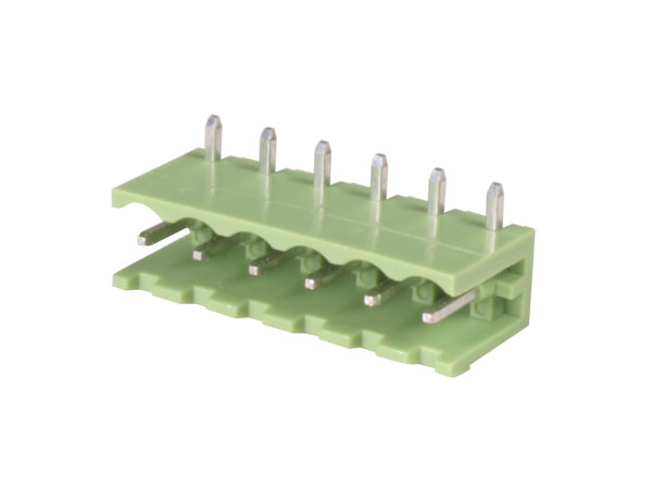 5.08 mm pitch - pluggable right angle male terminal block - 6 contacts