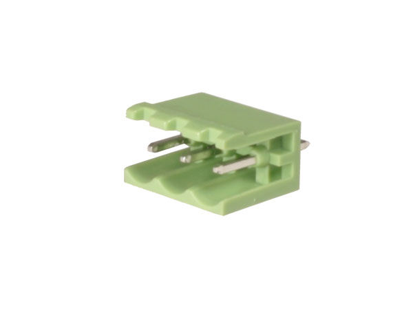 5.00 mm pitch - pluggable straight male terminal block - 3 contacts