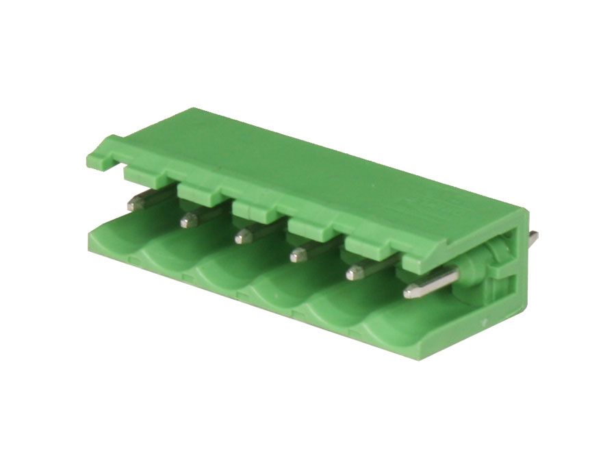 5.00 mm pitch - pluggable straight male terminal block - 6 contacts