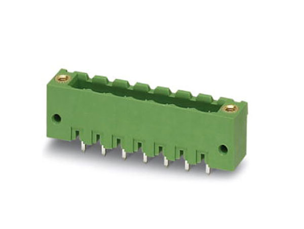 5.00 mm pitch - pluggable straight male terminal block - 7 contacts - MSTBV 2,5/ 10-GF