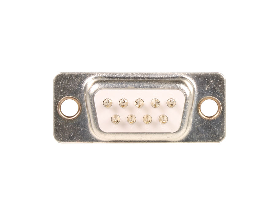 Sub-D Female Connector - 9 Contacts Printed Circuit