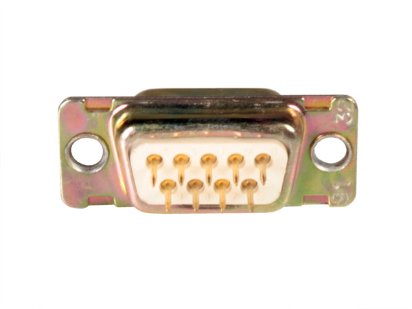 D-sub Male Connector - 9 Poles Printed Circuit - 2404