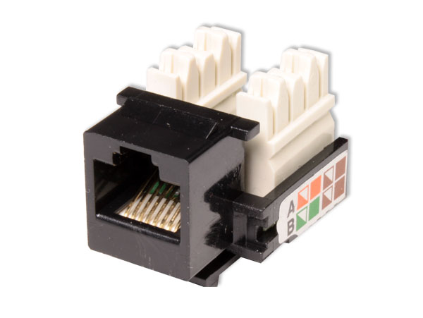 Cat-5e Inset Female Telephone Jack Plug 8P8C - RJ45