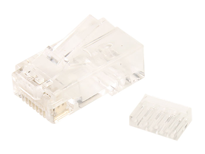 Ficha Macho 8P8C Cat. 6 - RJ45 - Macho