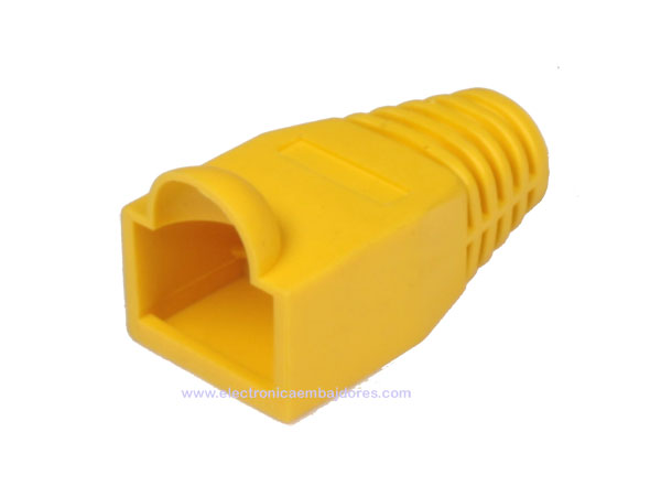 Protective Case for Cat. 5E-6 RJ45 - Yellow - NR 950-7379/AM