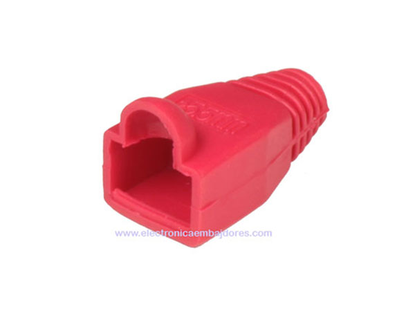 Protective Case for Cat. 5E - Cat. 6 RJ45 - Red - 39.009/R