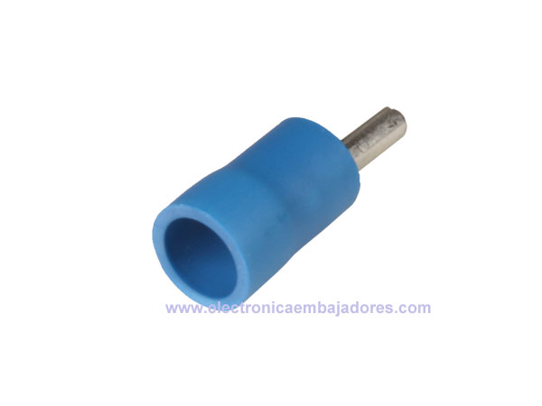 FVWSPC-2 - Insulated Pin Cord End Terminal Blue 2.5 mm² l=16 mm - 100 Units - 25120