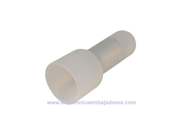 CE5 - Nylon-Insulated Closed End Connector 6 mm² - 100 Units - CE5