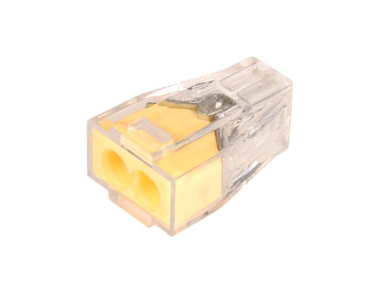 Connecteur d'épissure 2 Contacts Jusqu'à 2,5 mm²