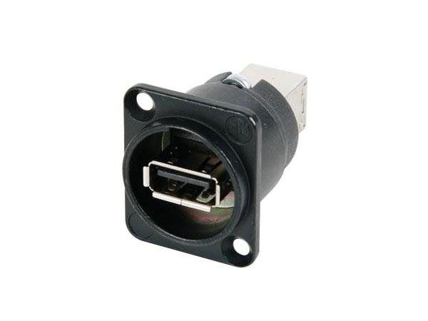 - Ningún fabricante - - Adaptateur Panneau USB-A Femelle vers USB-B Femelle - NA HDMI-N