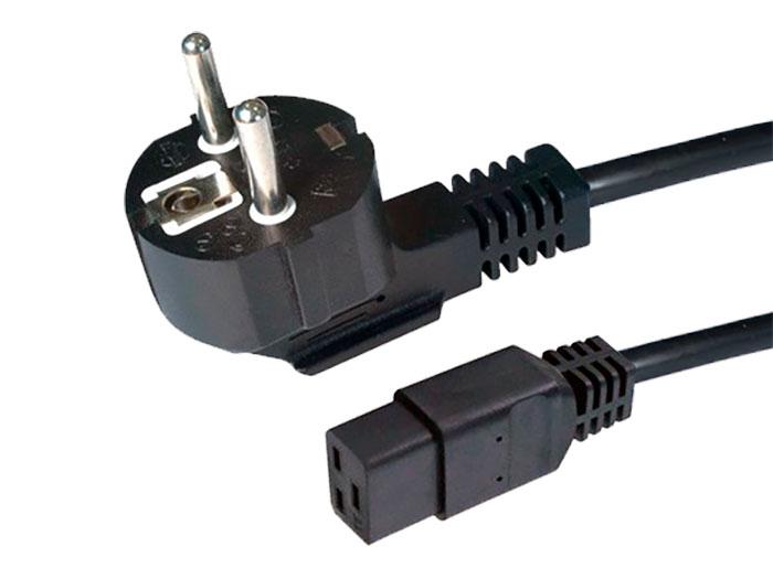CONEXION ELECTRICA RED TIPO IEC60320 C19 HEMBRA - SCHUKO - 1,8M