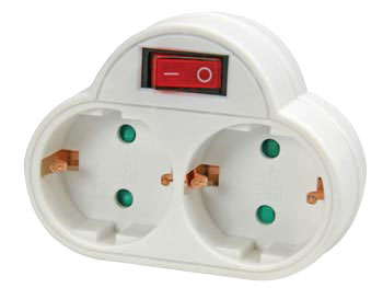 1 Input Power Socket and Switch - NETBS2SW