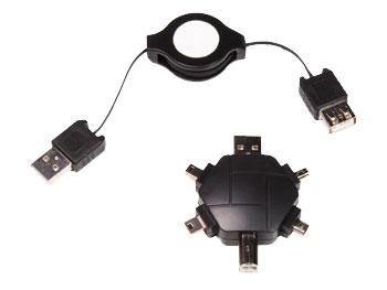 SET ADAPTADORES USB