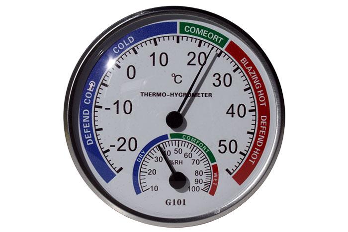 Thermomètre Hygromètre Mural